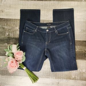 White house black market slim leg jeans